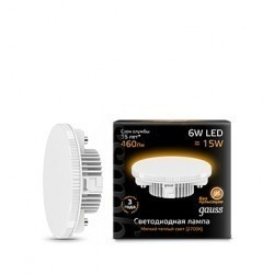 Лампа Gauss LED GX53 108008106