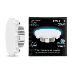 Лампа Gauss LED GX53 108008208