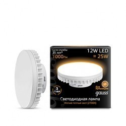 Лампа Gauss LED GX70 131016112