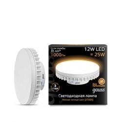 Лампа Gauss LED GX70 131016112