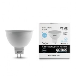 Gauss LED Elementary MR16 13537
