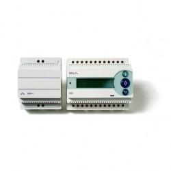 Терморегулятор DEVIreg 850 с источником питания 24 В. Щитовой, 6 модулей + 3 модуля.