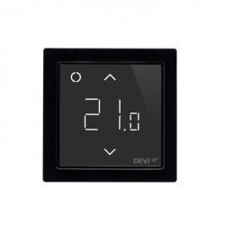 DEVIreg™ Smart терморегулятор интеллектуальный с Wi-Fi, чёрный, 16А
