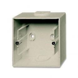 1799-0-0962 Basic55 Коробка 1-ная для откр. проводки, шампань