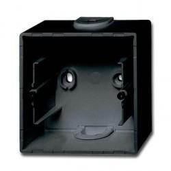 1799-0-0965 Basic55 Коробка 1-ная для откр. проводки, château-black