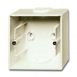 1799-0-0968 Basic55 Коробка 1-ная для откр. проводки, chalet-white