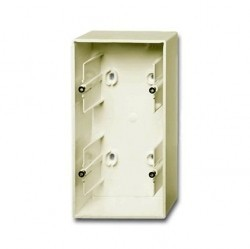 1799-0-0972 Basic55 Коробка 2-ная для откр. проводки, сл. кость