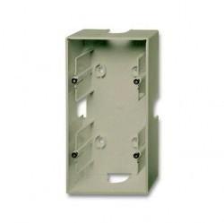 1799-0-0963 Basic55 Коробка 2-ная для откр. проводки, шампань