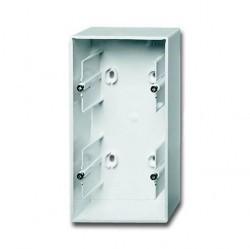 1799-0-0975 Basic55 Коробка 2-ная для откр. проводки, альп. белый