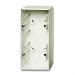 1799-0-0969 Коробка для открытого монтажа, 2-постовая, серия Basic 55, цвет chalet-white