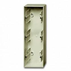 1799-0-0964 Basic55 Коробка 3-ная для откр. проводки, шампань