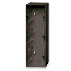 1799-0-0967 Basic55 Коробка 3-ная для откр. проводки, château-black