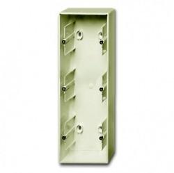 1799-0-0970 Коробка для открытого монтажа, 3-постовая, серия Basic 55, цвет chalet-white