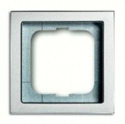 Рамка 1 пост ABB FUTURE LINEAR, серебристо-алюминиевый, 1754-0-4529