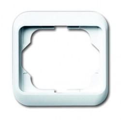 Рамка 1 пост ABB ALPHA NEA, белый матовый, 1754-0-4515