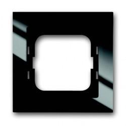 Рамка 1 пост ABB BUSCH-AXCENT, черный, 1754-0-4409