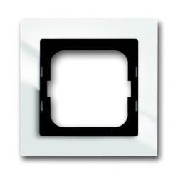 Рамка 1 пост ABB BUSCH-AXCENT, белый, 1754-0-4331
