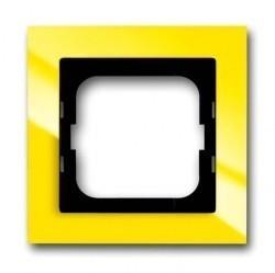 Рамка 1 пост ABB BUSCH-AXCENT, желтый, 1754-0-4334