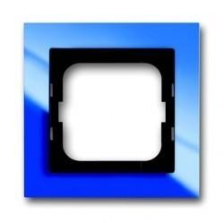 Рамка 1 пост ABB BUSCH-AXCENT, синий, 1754-0-4343