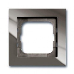 Рамка 1 пост ABB BUSCH-AXCENT, entrée-grey, 1754-0-4471