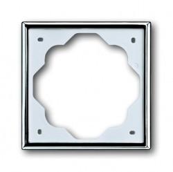 Рамка 1 пост ABB IMPULS, хром, 1754-0-4514