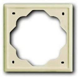 Рамка 1 пост ABB IMPULS, слоновая кость, 1754-0-4505