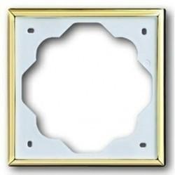 Рамка 1 пост ABB IMPULS, золотой, 1754-0-4507