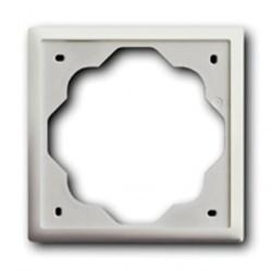 Рамка 1 пост ABB IMPULS, белый бархат, 1754-0-4430