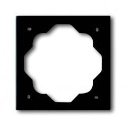Рамка 1 пост ABB IMPULS, черный бархат, 1754-0-4424