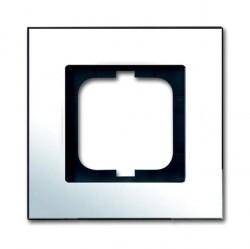 Рамка 1 пост ABB CARAT, хром, 1754-0-4360