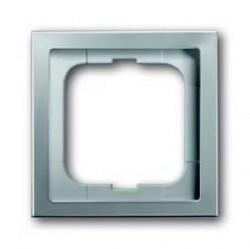 Рамка 1 пост ABB PURE СТАЛЬ, стальной, 1754-0-4500
