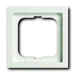Рамка 1 пост ABB FUTURE LINEAR, белый бархат, 1754-0-4531
