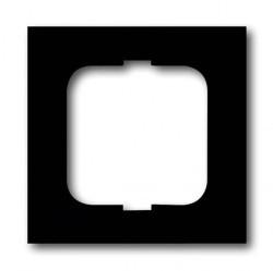 Рамка 1 пост ABB FUTURE LINEAR, черный бархат, 1754-0-4532