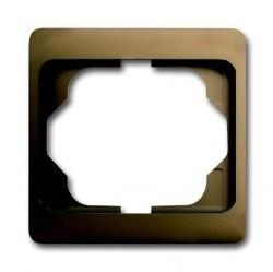 Рамка 1 пост ABB ALPHA EXCLUSIVE, бронзовый, 1754-0-4382