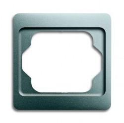 Рамка 1 пост ABB ALPHA EXCLUSIVE, титан, 1754-0-4509