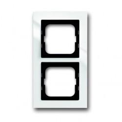 Рамка 2 поста ABB BUSCH-AXCENT, белый, 1754-0-4332