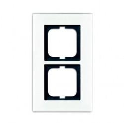 Рамка 2 поста ABB CARAT, белый, 1754-0-4443