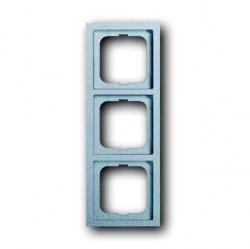 Рамка 3 поста ABB FUTURE LINEAR, серебристо-алюминиевый, 1754-0-4533