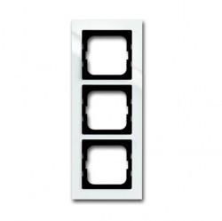 Рамка 3 поста ABB BUSCH-AXCENT, белый, 1754-0-4333