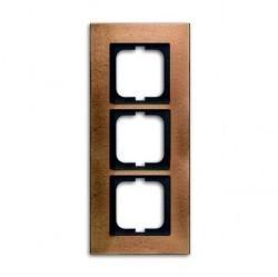 Рамка 3 поста ABB CARAT, бронзовый, 1754-0-4260