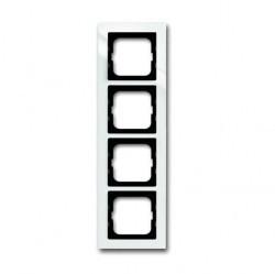 Рамка 4 поста ABB BUSCH-AXCENT, белый, 1753-0-4124