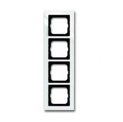 Рамка 4 поста ABB BUSCH-AXCENT, белый, 1754-0-4346