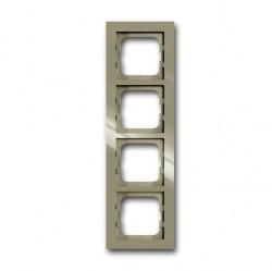 Рамка 4 поста ABB BUSCH-AXCENT, maison-beige, 1754-0-4484