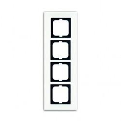 Рамка 4 поста ABB CARAT, белый, 1754-0-4445