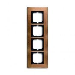 Рамка 4 поста ABB CARAT, бронзовый, 1754-0-4261
