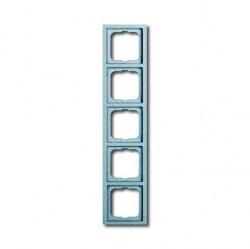 Рамка 5 постов ABB FUTURE LINEAR, серебристо-алюминиевый, 1754-0-4310