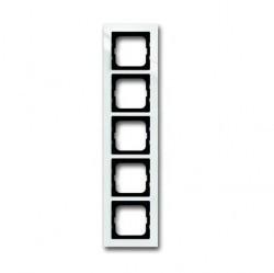 Рамка 5 постов ABB BUSCH-AXCENT, белый, 1754-0-4347