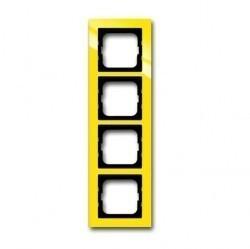 Рамка 5 постов ABB BUSCH-AXCENT, желтый, 1754-0-4349