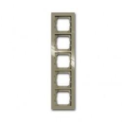 Рамка 5 постов ABB BUSCH-AXCENT, maison-beige, 1754-0-4485
