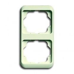 Рамка 2 поста ABB ALPHA NEA, вертикальная, слоновая кость, 1754-0-3757